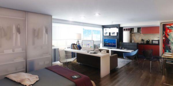 Apartamento com 1 Dormitório é 1 Vaga de Garagem no Bairro Mont - Foto 3
