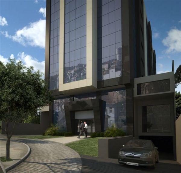 Sala comercial no bairro Moinhos de Ventos, próximo ao Hospital Moinhos de Vento.Com 1 vaga de garagem e terraço. Edifício com estacionamento rotativo, 3 elevadores, port corchore, auditório com 50 lugares.