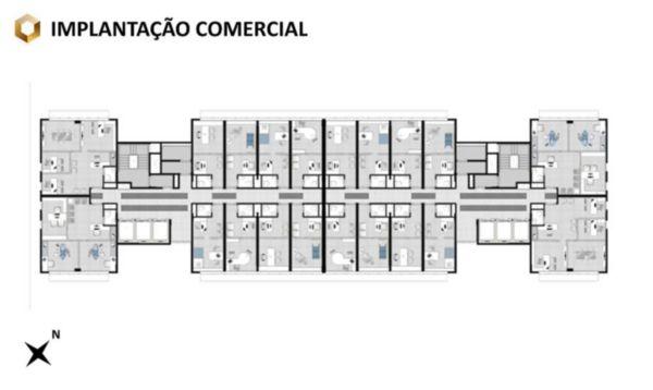 Sala Comercial com 61m² Privativos no Bairro Passo da Areia Porto - Foto 9