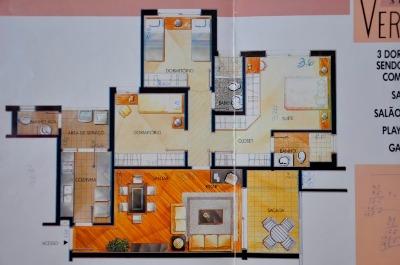 Apartamento com 3 Dormitórios no Bairro Azenha em Porto Alegre - - Foto 12